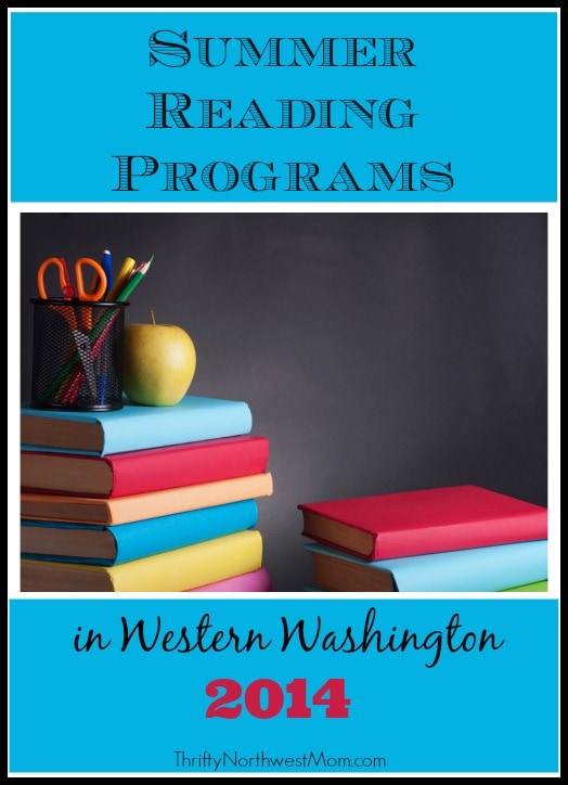 Summer Reading Programs in Western Washington 2014