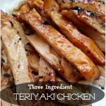 Slow Cooker Teriyaki Chicken – 3 Ingredients & So Easy!