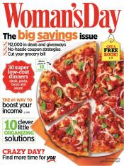 Womans Day Magazine – $4.99 For A One Year Subscription
