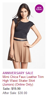 Nordstrom Anniversary Sale Online Only deals