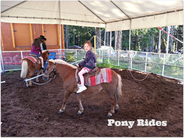 Pony Rides at skibowl