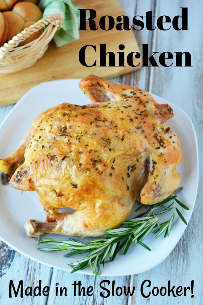 Whole Chicken Slow Cooker Recipe Simple Way To Make Roasted