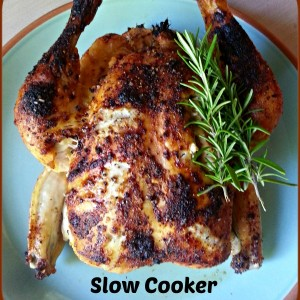 Slow Cooker Roasted Chicken Recipes