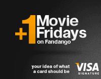 Fandango: 2 for 1 Movie Tickets for Visa Signature Cardholders