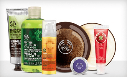 The Body Shop: $20 to Spend for just $10 – 50% Off