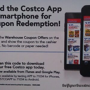 new costco smartphone app