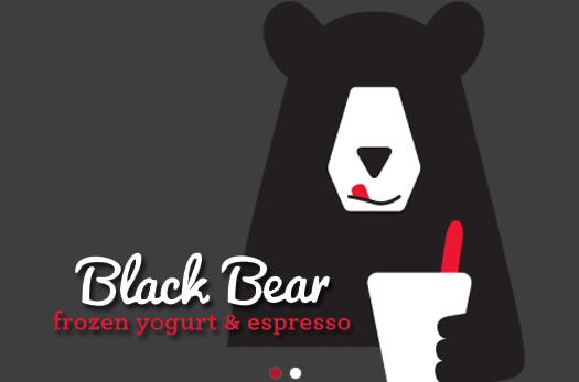 half off black bear frozen yogurt puget sound