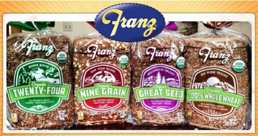 Franz Printable Coupon: $1 off for Organic Bread
