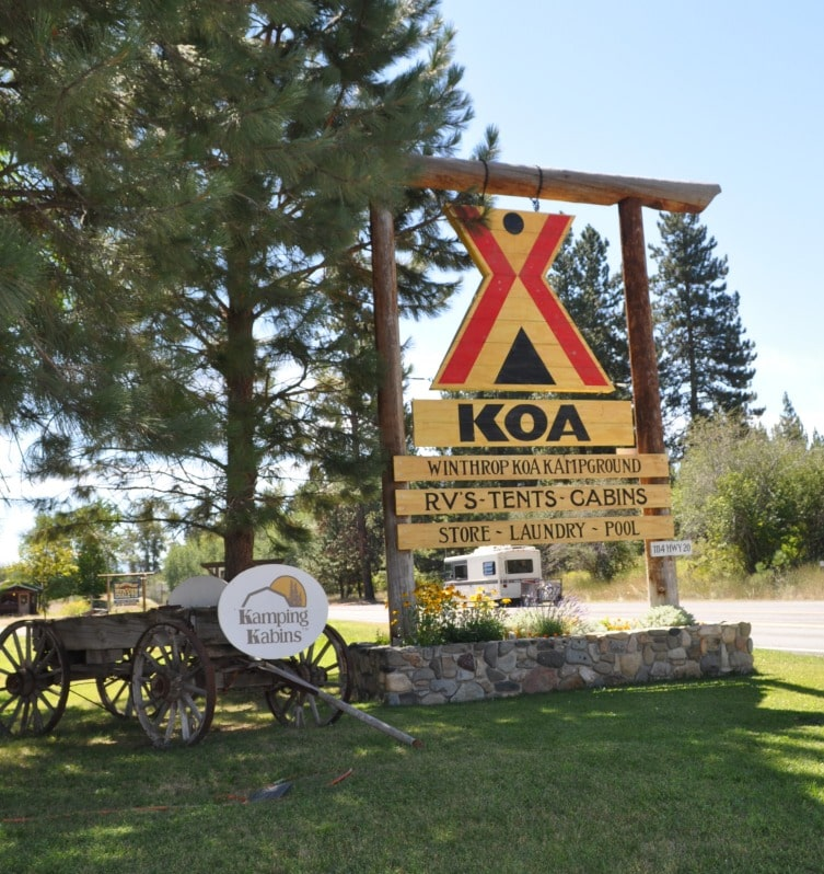 Winthrop KOA Campground