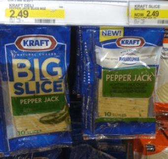 Kraft Big Slice Cheese Only $1.24