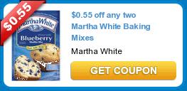Martha White Baking Mixes Only $0.51 Each!
