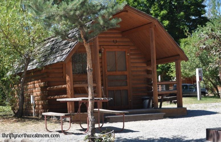 winthrop koa campground cabin