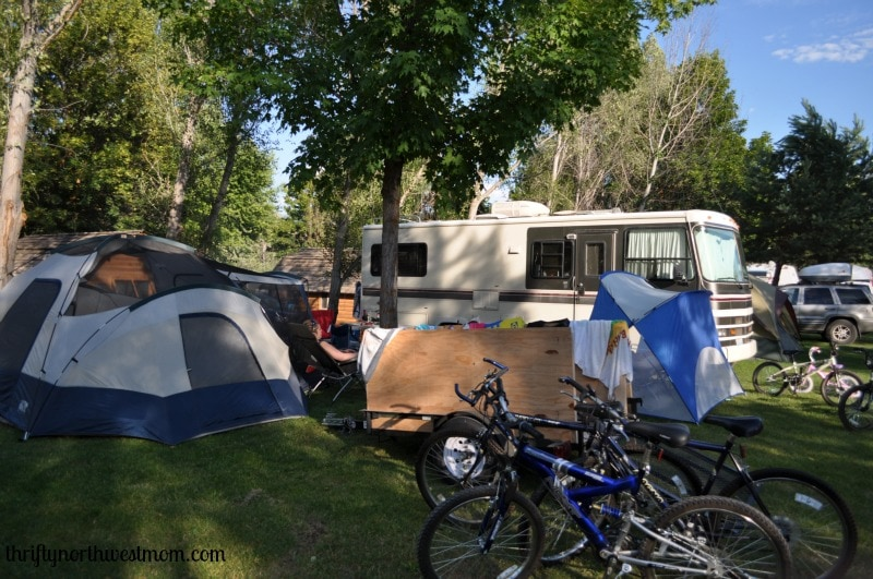Winthrop KOA campsite