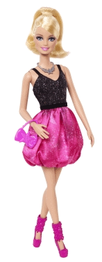 Barbie Fashionistas Doll - Pink Bubble Skirt