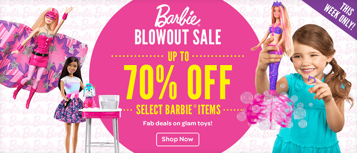 Barbie Sale Mattel Barbie Blowout Sale