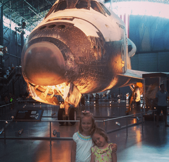 Space Shuttle Discovery at Museum of Flight in DC