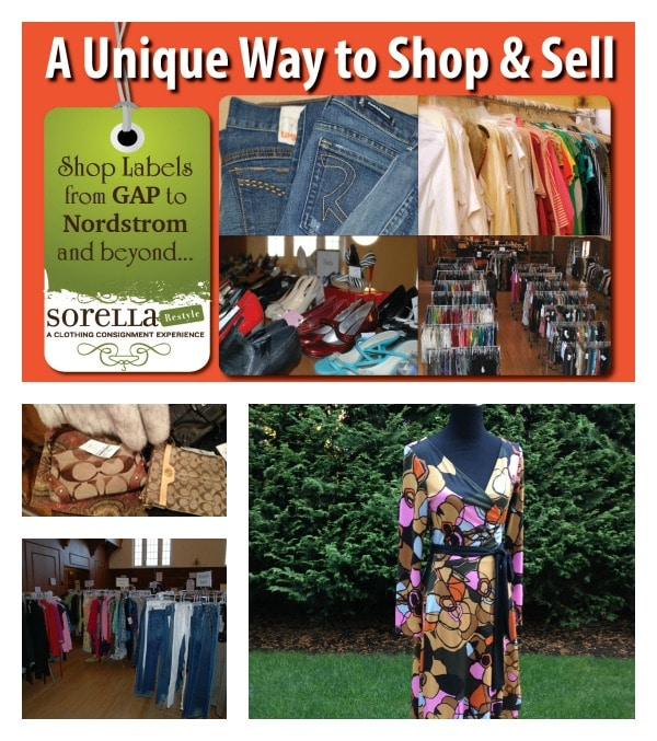 Sorella ReStyle Womens Consignment Sale + Enter To Win Full Makeover!