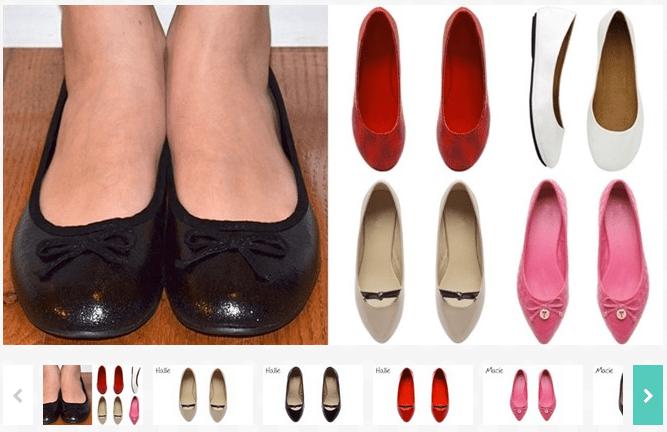 Womens Ballet Flats – $3.99