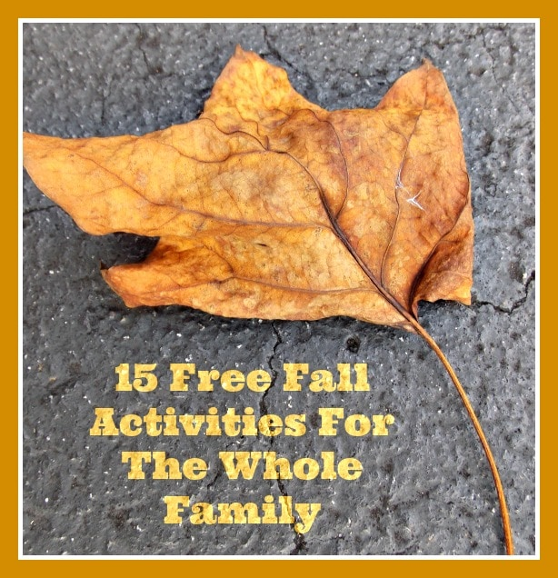 15 Free Fall Activities For the Whole Family