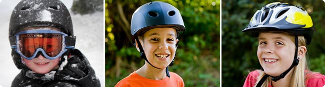 free bike helmets for kids