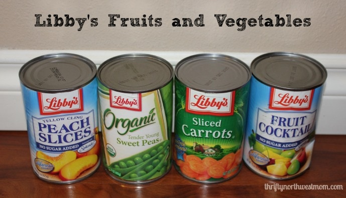 libby's fruit and vegetables