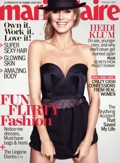 Marie Claire Magazine – $4.50 for a One Year Subscription (Today Only)!