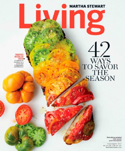 Martha Stewart Living Magazine – One Year Subscription for $5.99 (Today Only)