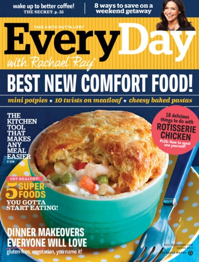 Everyday with Rachael Ray Magazine – One Year Subscription For Only $4.95