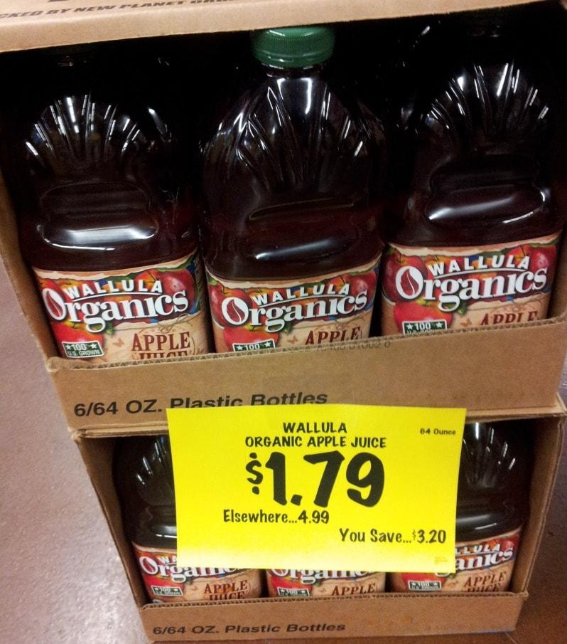Organic Apple Juice on Sale