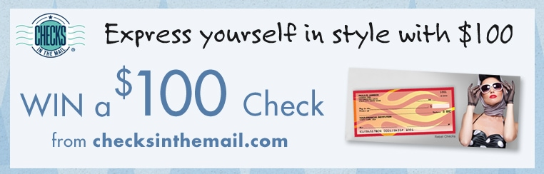 Discounts on Checks + $100 Giveaway from Valpak and #ChecksintheMail