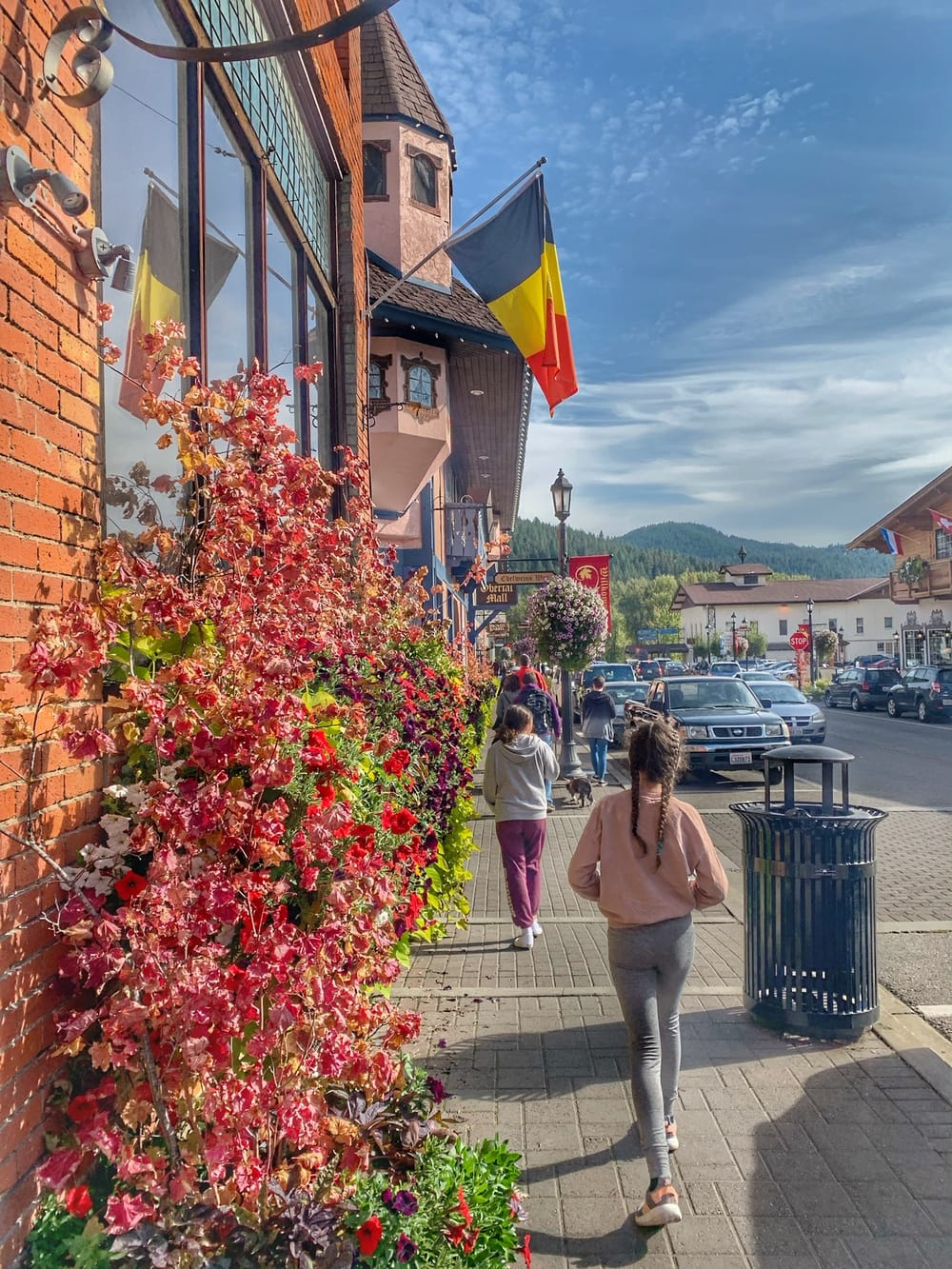 Fall leaves in Leavenworth