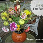Pumpkin Centerpieces Ideas – Use A Pumpkin As A Vase And Add To It!