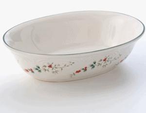 Pfaltzgraff Oval bowl