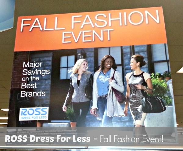 Ross fall fashion event
