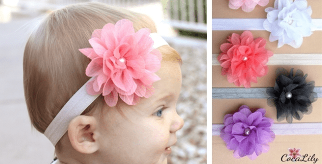 Bloom Flower Headbands