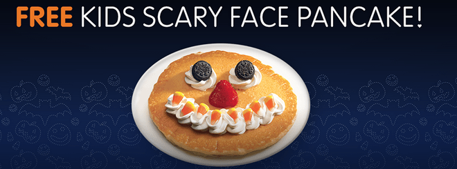 ihop scary face pancake 2013