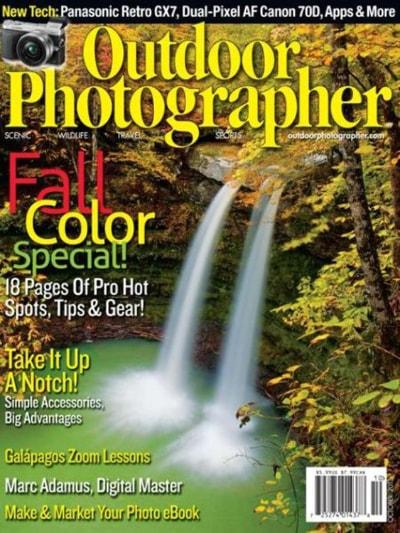 Outdoor Photographer Magazine Subscription – $4.99