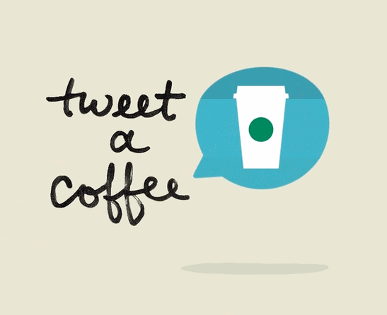 Starbucks: Give a $5 Starbucks e-Card, get a $5 Starbucks e-Card (Twitter and Visa Required)