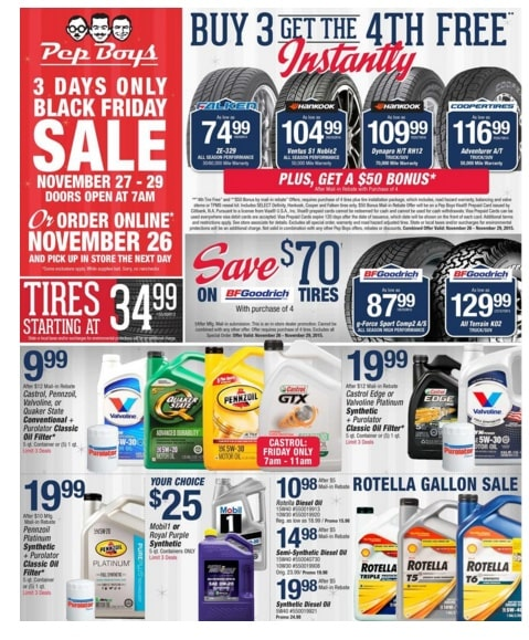 Pep Boys Black Friday Deals 2015 Thrifty Nw Mom