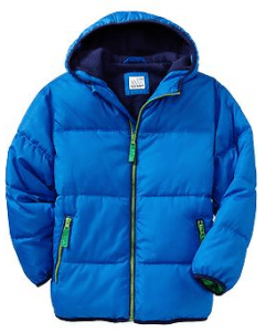 Boys Frost Free quilted jacket