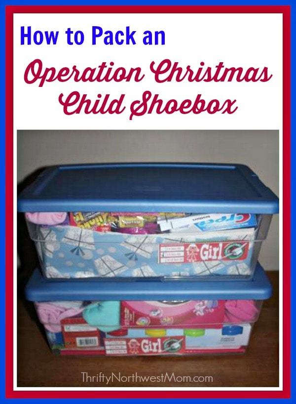 How to Pack an Operation Christmas Child Shoebox