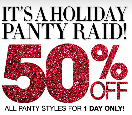 Maidenform 1 Day Panty Sale – Panties as low as $3.49!