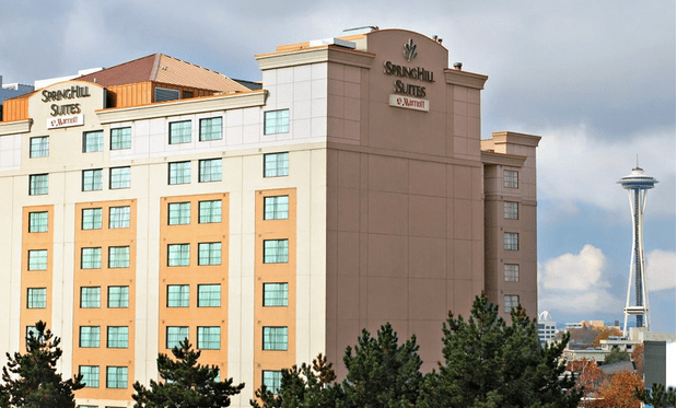 marriott springhill suites in seattle as low as 85 nt. Black Bedroom Furniture Sets. Home Design Ideas