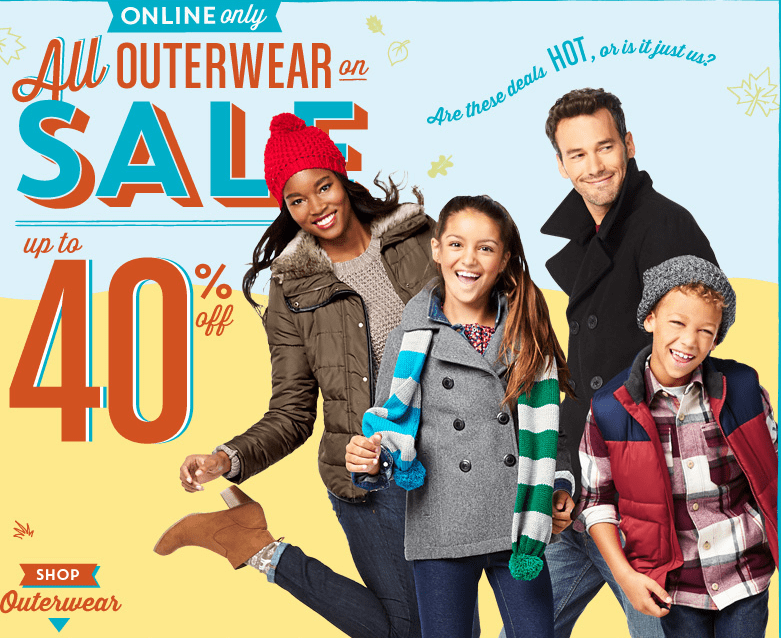 Find Old Navy weekly ads, circulars and flyers. This week Old Navy ad best deals, shopping coupons and store discounts. If your are headed to your local Old Navy store don't forget to check your cash back apps (Ibotta, Checkout 51 or Shopmium) for any matching deals that you might like.