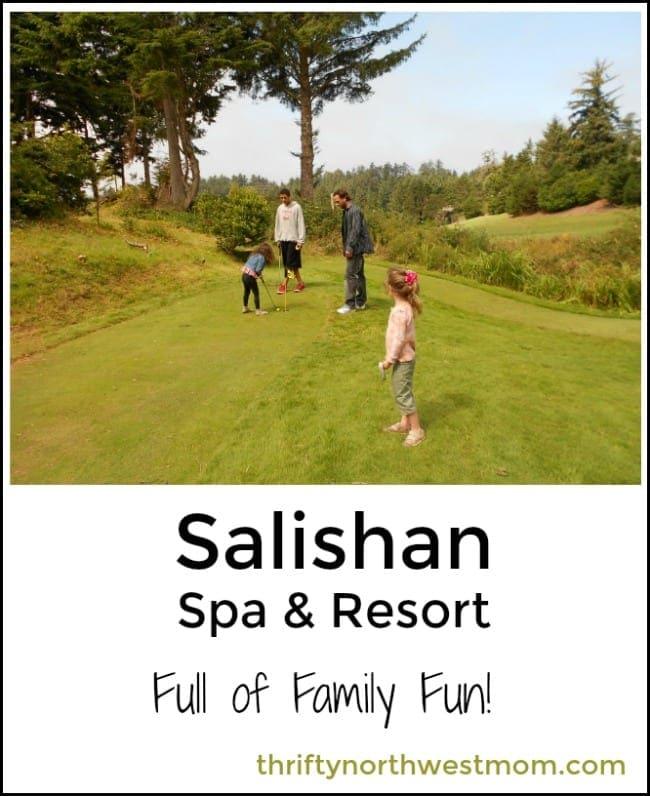 Salishan Coastal Lodge Resort (4-Star Resort)