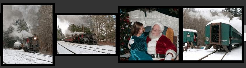 Mt. Rainier Scenic Railroad Santa Express Train – $14 Ticket (Reg. $27)!