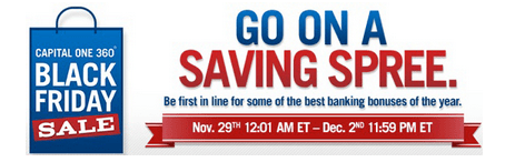Capital One Banking Online Financial Independence Days Sale! June 30th – July 3 (Last Day)!