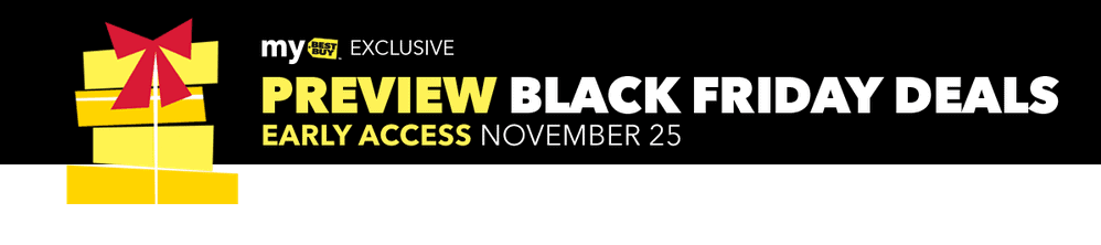Best Buy Black Friday Sale Early Access