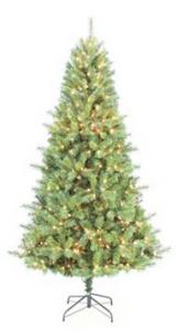 St Nicholas Pre Lit Tree