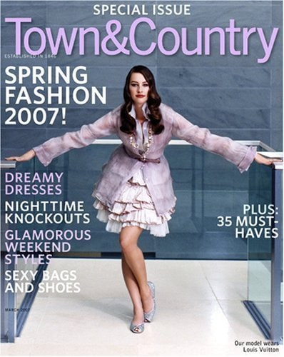 Town & Country Magazine – Subscription for $6.99 /YR Today